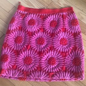 🔥OFFER🔥 Kate Spade Embroidered Skirt